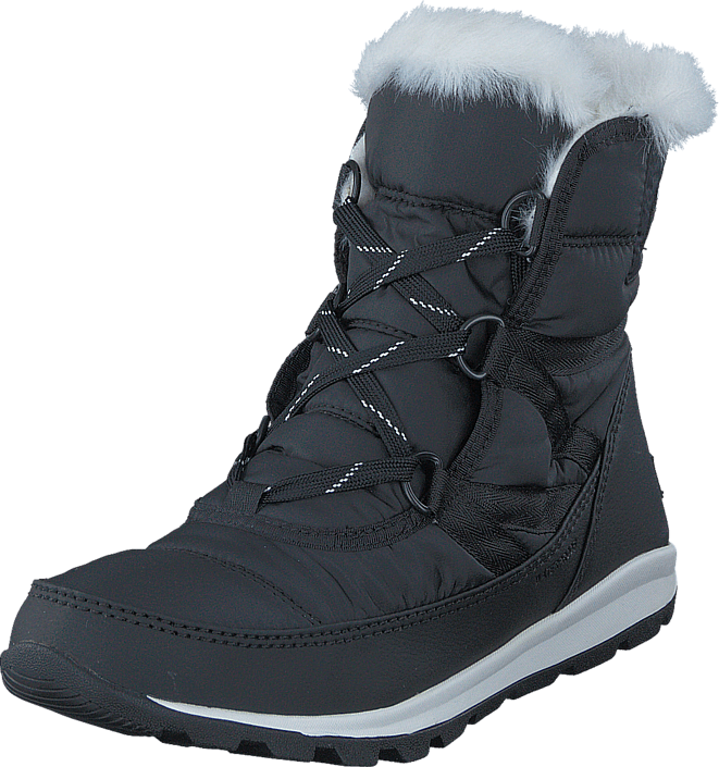 Sorel Whitney Short Lace 010 Black Sea Salt
