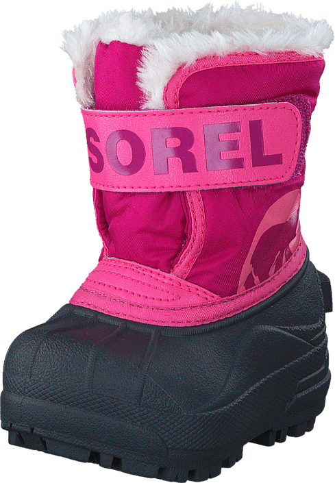 Sorel Snow Commander Toddler 652 Tropic Pink, Deep Blush