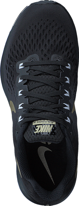 best loved 14700 4840a ... purchase köp nike wmns air zoom pegasus 34 black anthracite white gold  svarta skor online brandos