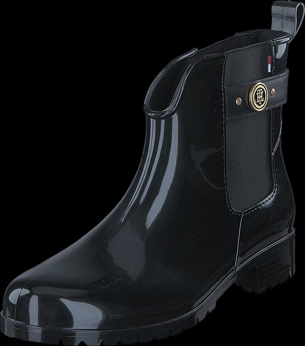k b tommy hilfiger oxley 13r black sorte sko online. Black Bedroom Furniture Sets. Home Design Ideas