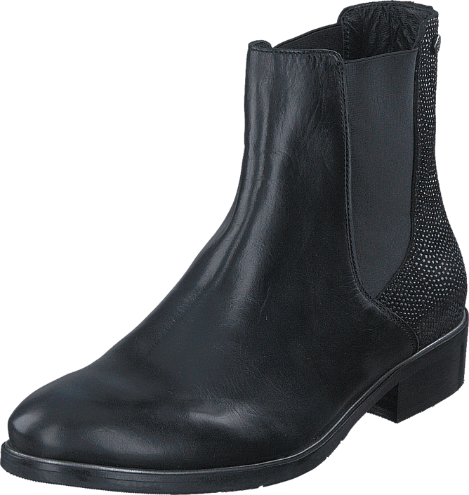 Footway SE - Tommy Hilfiger Polly 10C Black, Skor, Kängor & Boots, Kängor, Svart, Dam, 36 1647.00