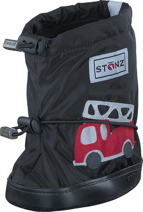 Stonz Stonz Booties Fire truck - Black