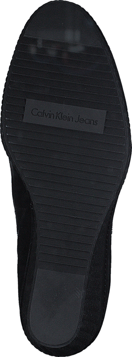 Calvin Klein Jeans - Sasha Suede/ Box Smooth BBK