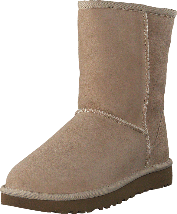 Footway SE - UGG Classic Short II Sand, Skor, Kängor & Boots, Fårskinnsstövlar, Brun, Dam, 37 2247.00