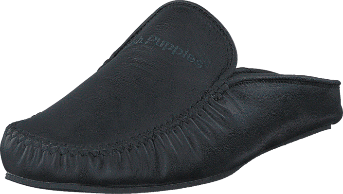 Hush Puppies Slipper Nappa Negro