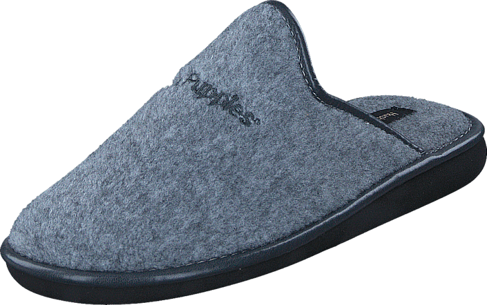 Hush Puppies Boston Felt Grey