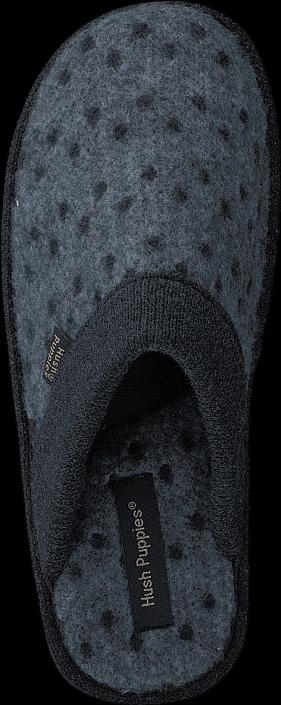 Hush Puppies - Textile Slipper Black
