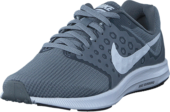 Nike - Downshifter 7 Wolf Grey/white/black