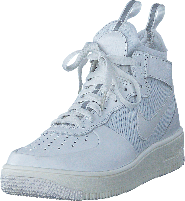 Nike - Air Force 1 Ultraforce Mid-top White/pure Platinum/White