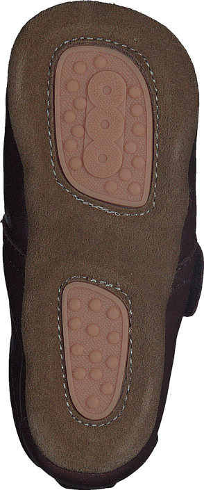 Bisgaard Home Shoe Velcro Star Brown