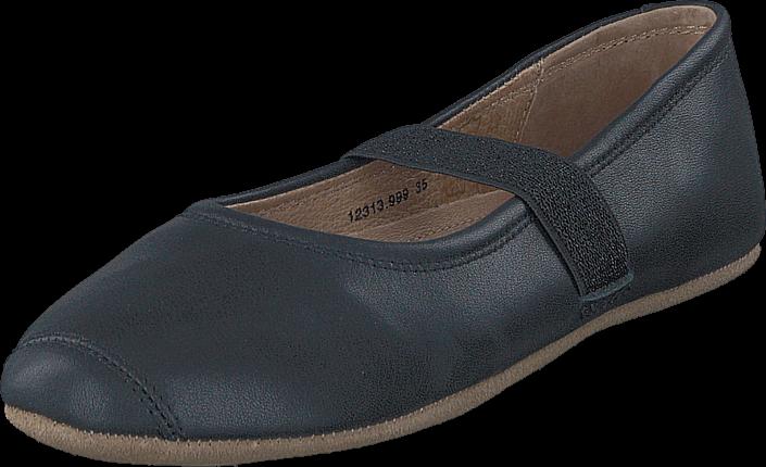 Footway SE - Bisgaard Home Shoe Ballet Noir, Skor, Lågskor, Ballerinor, Grå, Unisex, 24 487.00