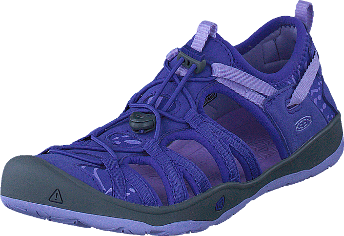 Keen Moxie Sandal Liberty/lavende, Sko, Lave sko, Tursko, Blå, Unisex, 32