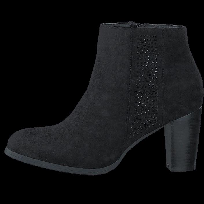 Duffy 97-16252 Black, Schuhe, Stiefel & Stiefeletten, Stiefeletten, Schwarz, Female, 36
