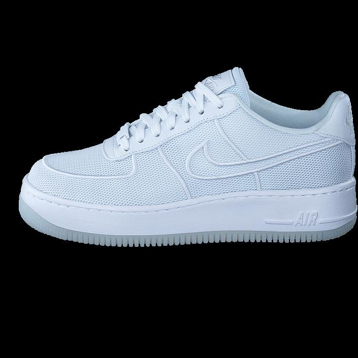 differently 78f24 ac513 Köp Nike Air Force 1 Low-top Upstep Br White white-glacier Blue vita Skor  Online   BRANDOS.se