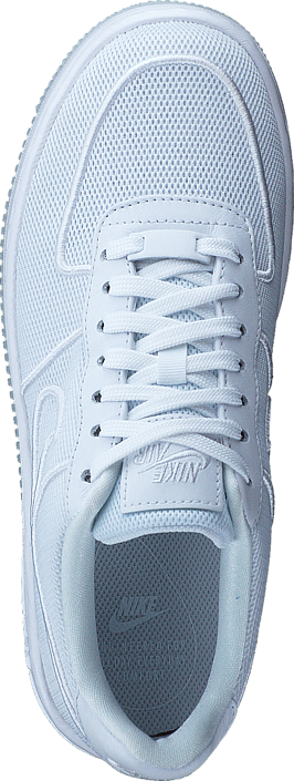 Nike Air Force 1 Low-top Upstep Br White/white-glacier Blue