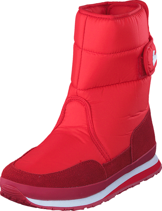 Rubber Duck Adult Nylon/Suede Red