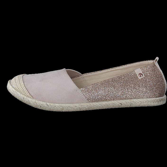 Duffy 68-51897 Coral, Schuhe, Flache Schuhe, Espadrilles, Rot, Pink, Female, 36