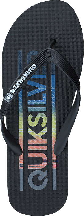 Quiksilver - Molokai Wordmark Black/Red/Blue