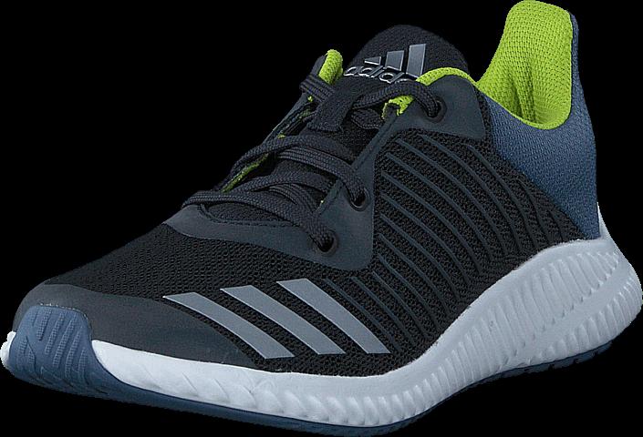 Footway SE - adidas Sport Performance Fortarun K Carbon/Silver Met./Raw Steel, Skor, Sneakers 347.00