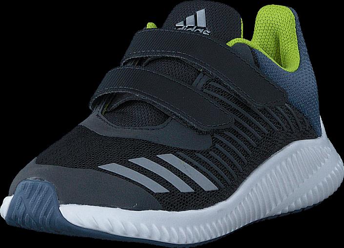 adidas Sport Performance - Fortarun Cf K Carbon/Silver Met/Raw Steel