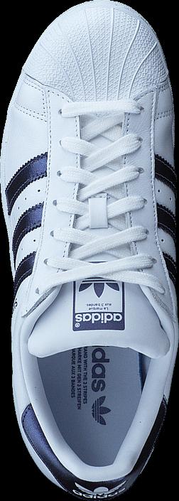 adidas Originals - Superstar W Ftwr Wht/Purple Night Met/Wht