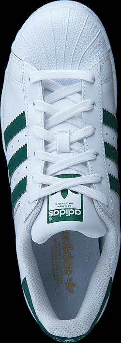 adidas Originals Superstar Ftwr Wht/Collegiate Green/Wht