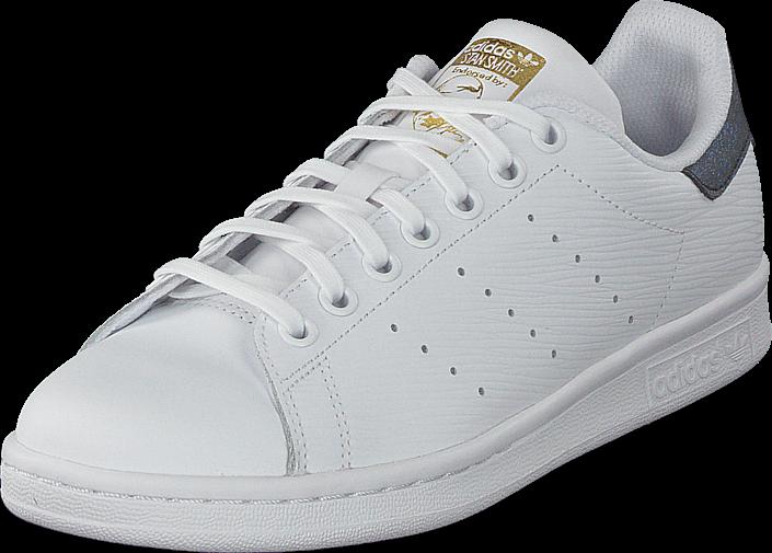 adidas Originals - Stan Smith J Ftwr White/Gold Met.
