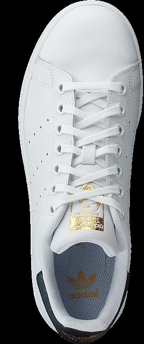 adidas Originals Stan Smith J Ftwr White/Gold Met.