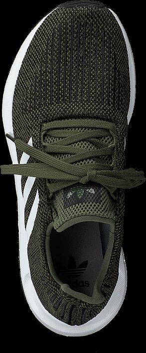 adidas Originals - Swift Run J Base Green/White/Core Black