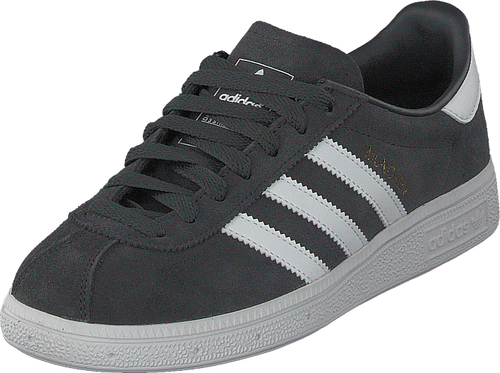 adidas Originals - Munchen Carbon S18/Ftwr White/Gold Met