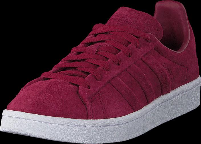 Footway SE - adidas Originals Campus Stitch And Turn Mystery Ruby F17/Ftwr White, Skor, Sneak 847.00