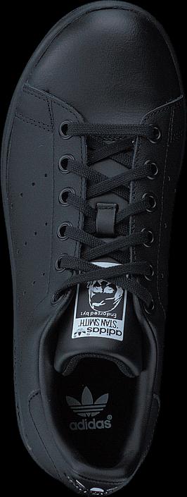adidas Originals - Stan Smith J Black/Black/Ftwr White
