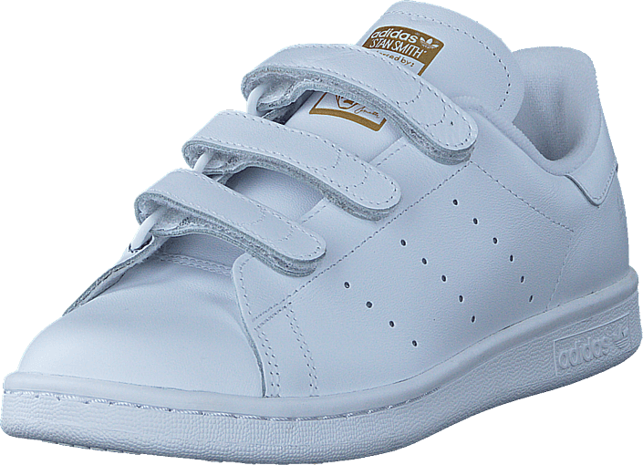 adidas Originals - Stan Smith Cf Ftwr White/Ftwr White/Gold Met