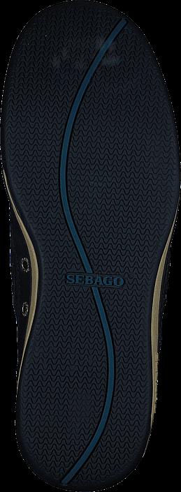 Sebago - Triton Three Eye Navy Leather