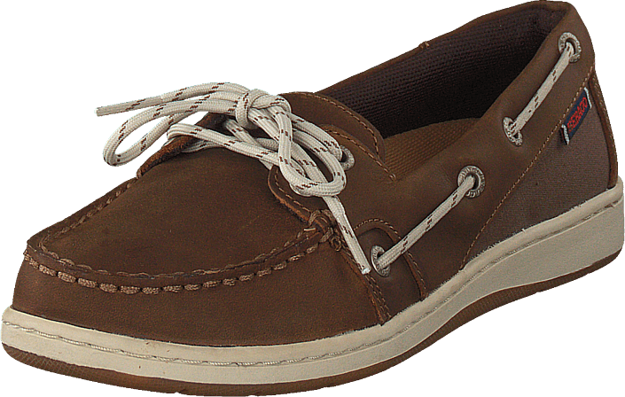 Sebago - Maleah Two Eye Brown Leather