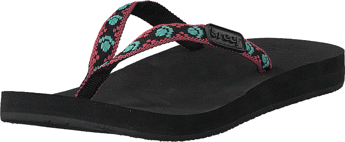 Reef - Ginger Black/Aqua/Pink