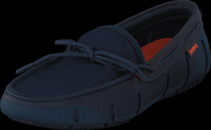 Swims Stride Lace Loafer Poseidon/Navy Fleck, Sko, Lave sko, Båt sko, Blå, Herre, 41