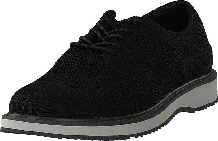 Footway SE - Swims Barry Derby Knit Black/Gray/Graphite, Skor, Lågskor, Finskor, Svart, Herr, 1397.00