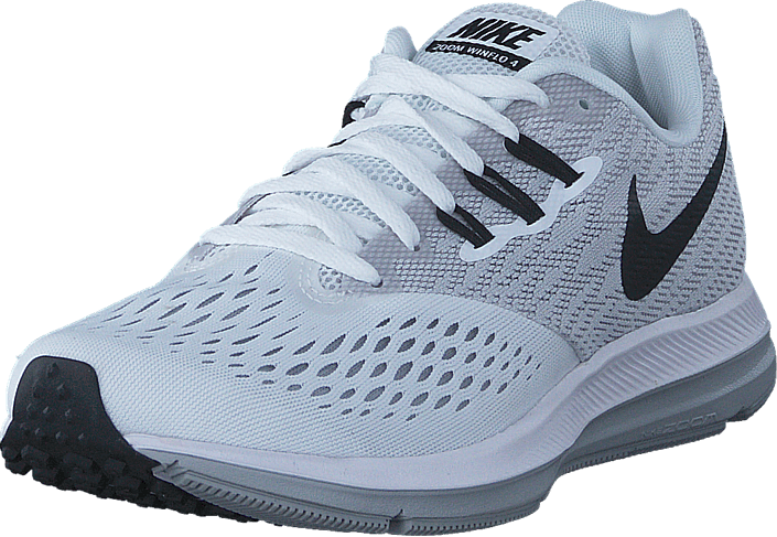 Nike - Wmns Nike Zoom Winflo 4 White/black-wolf Grey