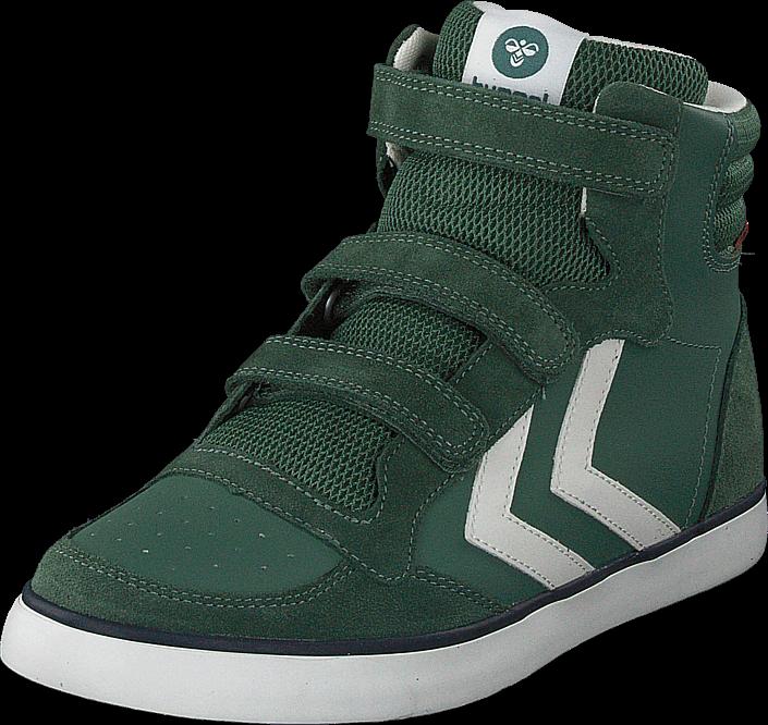Hummel - Stadil Leather Jr Duck Green