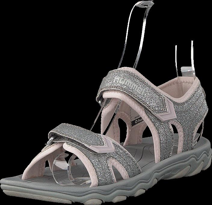 Hummel - Sandal Glitter Jr Silver