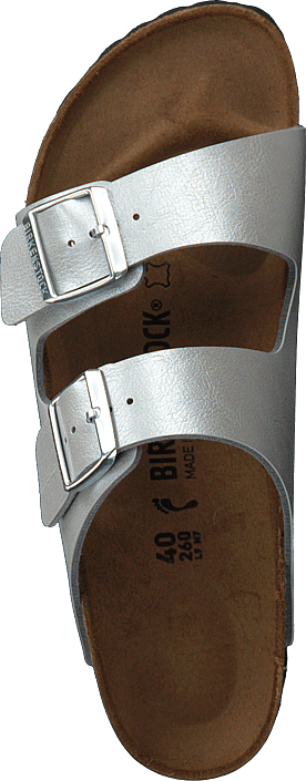 Birkenstock - Arizona Slim Birkoflor Graceful Silver