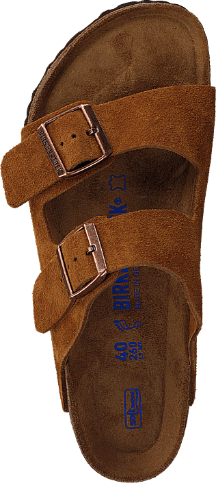 Birkenstock Arizona Soft Regular Suede Mink