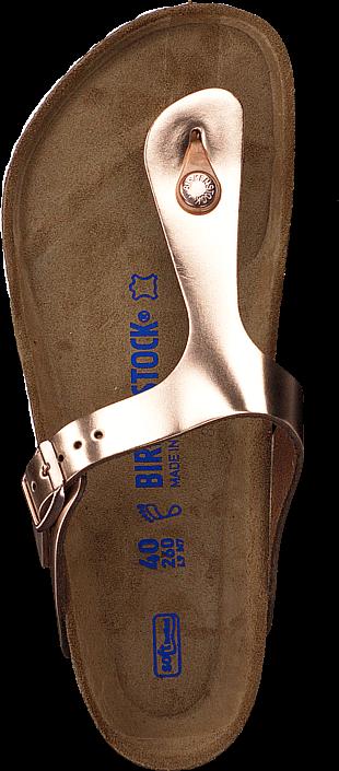 Birkenstock - Gizeh Soft Metallic Copper