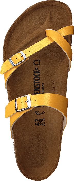Birkenstock - Mayari Birko-flor Graceful Amber Yellow