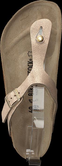 Birkenstock - Gizeh Washed Metallic Rose Gold