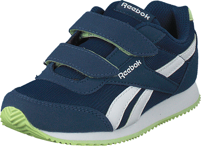 Footway SE - Reebok Classic Royal Cljog 2 2V Washed Blue/White/Lime Glow, Skor, Sneakers & Sp 337.00