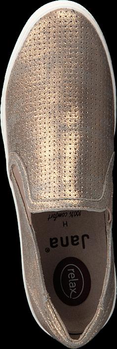 Jana - Slip On Rosé Metallic