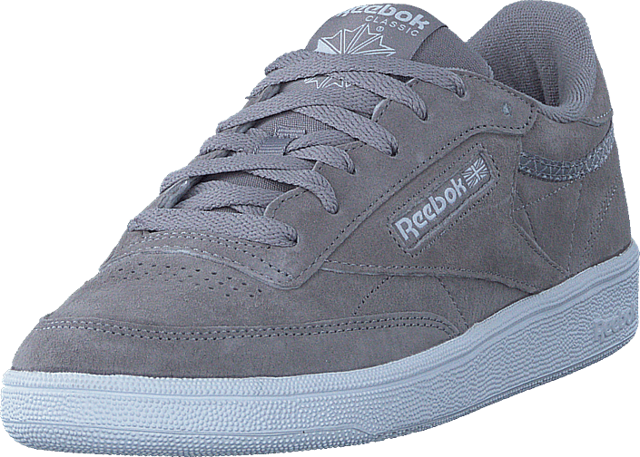Reebok Classic - Club C 85 Trim Nbk Powder Grey/White/Pale Pink