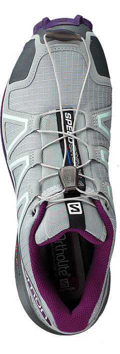 Salomon Speedcross 4 W Quarry/Acai/Fair Aqua